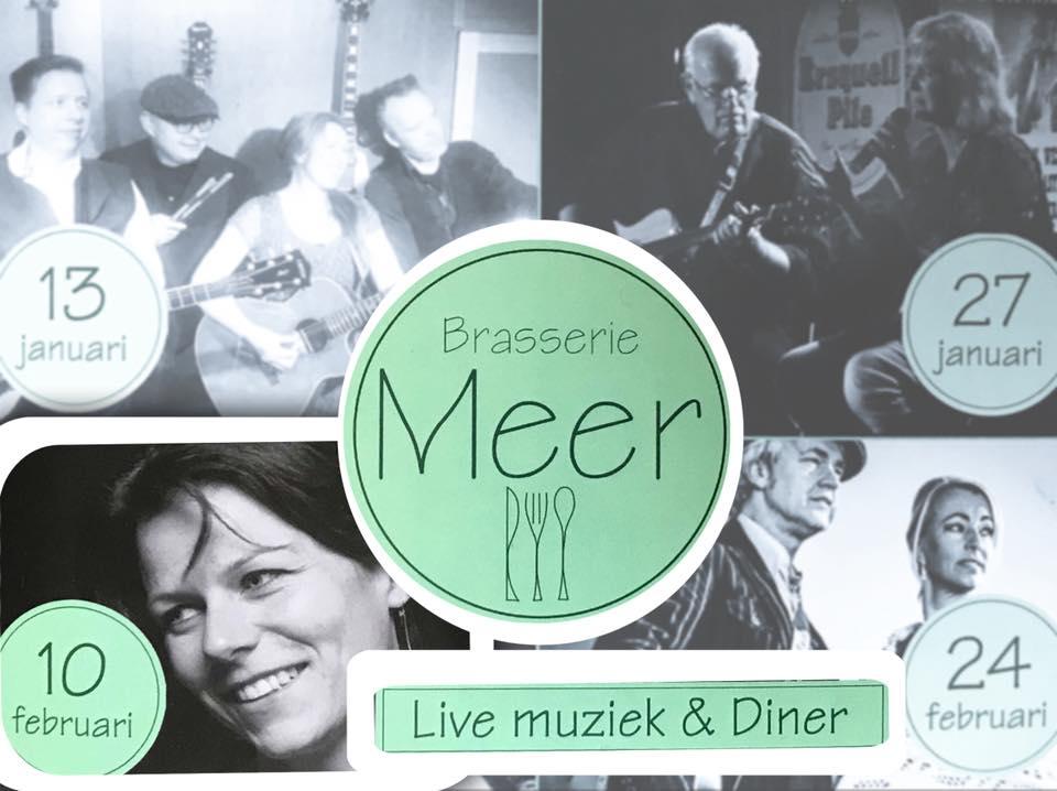 Live muziek op 10 februari voor diner of borrel!